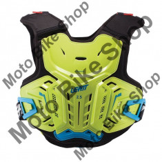 LEATT JUNIOR BRUSTPANZER 2.5, lime-blau, 145-160cm, 17/035, - Armura moto