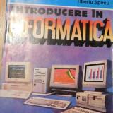 Introducere in informatica de Tiberiu Spircu - Carte Informatica