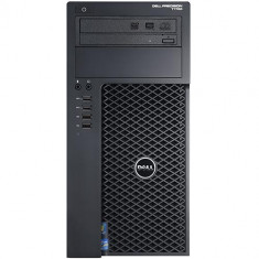 Workstation Refurbished Dell Precision T1700 Tower, Intel Xeon E3-1240 v3, 16GB Ram DDR3, HDD 240GB SSD + 500GB S-ATA, DVDRW, Placa video Nvidia Qua