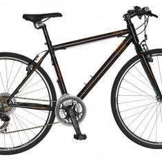 Bicicleta DHS Contura 2863 Culoare Negru – 530mm - Bicicleta Cross, 21 inch, Otel