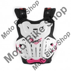 Leatt Girl Brustpanzer 4.5 Jackie, Weiß/Pink, Girl Uni, P:16/117, - Armura moto