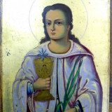 Icoana pe lemn, Sf. Varvara, inceput sec XX - Pictor roman