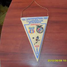 Fanion Steaua - Benfica Lisabona - Fanion fotbal