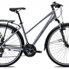 """Bicicleta Devron Urbio LT1.8 M – 495/19.5"""", Ash Grey - Bicicleta de oras"""