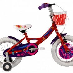 Bicicleta Copii DHS 1402 (2016) Culoare Rosu