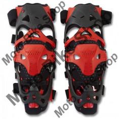 Protectii genunchi DX+SX Ufo Morpho, galben fluo, M, - Protectii moto