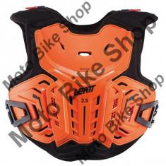LEATT JUNIOR BRUSTPANZER 2.5, orange-schwarz, 130-145cm, 17/035, - Armura moto
