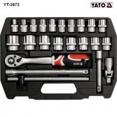 Trusa de chei tubulare cu antrenor 1/2 Yato YT-3873 - Trusa scule auto