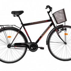 Bicicleta Kreativ 2811 (2016) culoare Negru - Bicicleta de oras