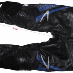 Pantaloni moto piele Probiker, protectii hard, barbati, marimea 48(S) - Imbracaminte moto