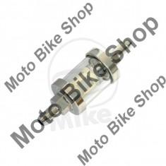 Filtru benzina chrom/sticla 8mm, - Filtru benzina Moto