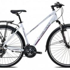 "Bicicleta Devron Urbio LT1.8 S – 457/18"", Pure White - Bicicleta de oras"