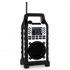 Duramaxx 862-BT-BL, statie, alba, MP3, USB - Aparat radio OneConcept