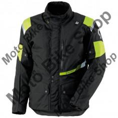 Scott Jacke Turn Pro Dp, Schwarz-Gelb Fluo, 2xl=58-60, P:16/061, - Imbracaminte moto