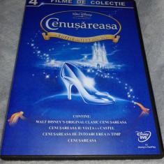 Cenusareasa - Cinderella - colectia completa pe DVD dublat romana - Film animatie disney pictures