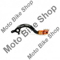 FUSSBREMSHEBEL ALU KTM, schwarz/orange, 17/249, - Pompa frana Moto