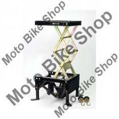 Stender hidraulic SMX9, 34cm inaltime inchis, sarcina maxima 140 kg, negru, - Elevator motociclete
