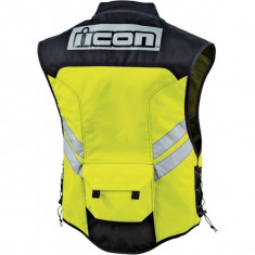 Vesta moto Icon Mil-Spec, galben - Imbracaminte moto