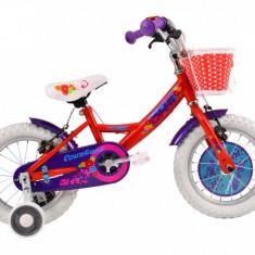 Bicicleta Copii DHS Countess 1404 (2016) Culoare Rosu