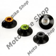 Adaptoare ghidaj stender spate M8 +10mm, antracit, - Elevator motociclete