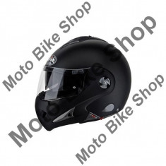 Casca integrala Flip Up Airoh Mathisse Rs Sport, negru, M, - Stikere Moto