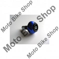 Capeti AL ghidon, pentru interior ghidon 18mm, 75gr, albastru, - Capat ghidon Moto