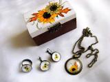 Set cadou - floarea soarelui- 28665