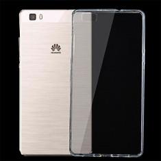 Husa silicon TPU Huawei P8lite transparenta - Husa Telefon