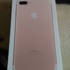 Vand Iphone 7 plus 256 GB - Telefon iPhone Apple, Roz, Neblocat