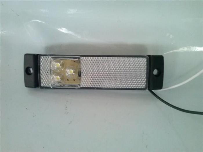 Lampa Laterala Gabarit Remorca Rulota   TIR   24v   pe     LED    AL-TCT-2060