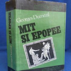 GEORGES DUMEZIL - MIT SI EPOPEE ( VOL. I, II, III ) - 1993 - Carte mitologie