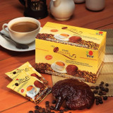Lingzhi Coffee 3 in 1-cu extract de Ganoderma