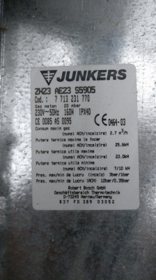 Piese termoteca Junkers ZW23 AE23 foto