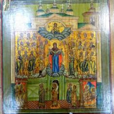 Icoana pe lemn, Braul Maicii Domnului, Rusia Sec. XIX - Pictor roman