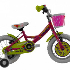 Bicicleta Copii DHS Countess 1404 (2016) Culoare Roz