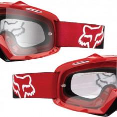 Ochelari cross Fox Brille Airspc culoare rosu - Ochelari moto