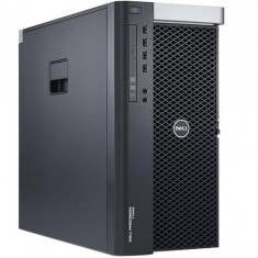 Workstation Refurbished Dell Precision T5600 Tower, Intel Xeon E5-2630 (6 core), 12GB Ram DDR3, Hard Disk 500GB, DVDRW, placa video dedicata nVidia