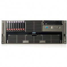 Server Refurbished HP ProLiant DL585 G2 4U, 2x AMD Opteron Dual Core 8220 2.8Ghz, 16GB Ram DDR2, 2x 146GB, HDD SAS, CDROM, 2 surse - Server HP