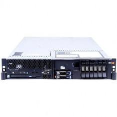 Server Refurbished IBM SYSTEM X3650,Rackabil 2U, 2x Intel Xeon E5450 3.0Ghz, 32GB Ram DDR2, 2x 146GB, SAS HDD, 2 surse, RAID, 2 placi de retea