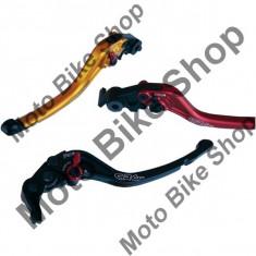 Maneta frana scurta cu varf inlocuibil RC2 CRG, aluminiu, aurie, Yamaha YZF-R6 2005 - 2013, - Maneta frana Moto