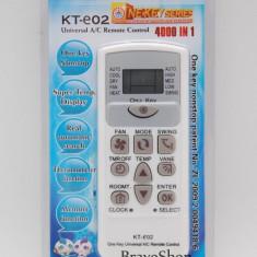 Telecomanda universala aer conditionat 4000 in 1 - Cod KT02 - Telecomanda aer conditionat