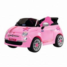 Fiat 500 Star, Peg Perego, Telecomanda, Pink - Masinuta electrica copii