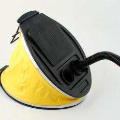 Pompa de picior pentru umflat si dezumflat saltele, colace, mingi de plaja (furtun inclus) 3 L