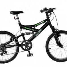 Bicicleta Kreativ 2041 culoare Negru - Bicicleta copii, 14 inch