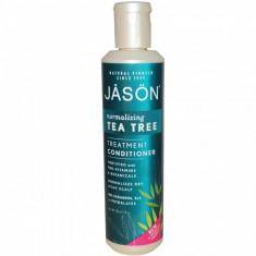 Balsam de par cu tea tree, tratament pt par deteriorat Jason 227g