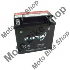 Baterie moto + electrolit 12V14Ah YTX14-BS,