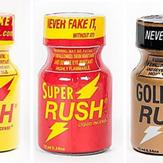 1+1+1 RUSH/GOLD/SUPER/ ,POPPERS, , AROMA CAMERA, popers, SIGILAT , ORIGINAL USA