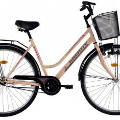 Bicicleta Kreativ 2812 (2016) culoare Crem - Bicicleta de oras