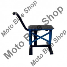 MOTORRADSTANDER MX=PP-T0380=PP-T0398, blau, 15/252, - Cric Central Moto