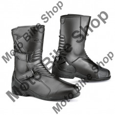 TCX TOURENSTIEFEL SPOKE WATERPROOF, black, 43, 17/066, - Incaltaminte moto